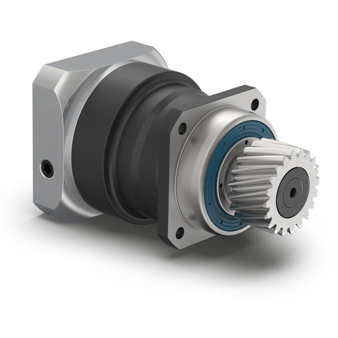 Planetary Gearbox with mounted pinion PSN - Precision Gearbox with Output Shaft - Helical gear - Reduced backlash - IP65