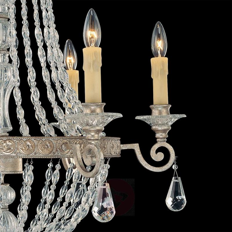 6-light perfectly-shaped chandelier SHEREZADE - design-hotel-lighting