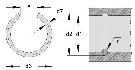 Bore ring - C430-10