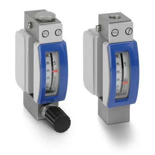 DK 32 | DK 34 - Gas flow meter / variable-area / 1.6 - 4 800 l/h / max. 130 bar