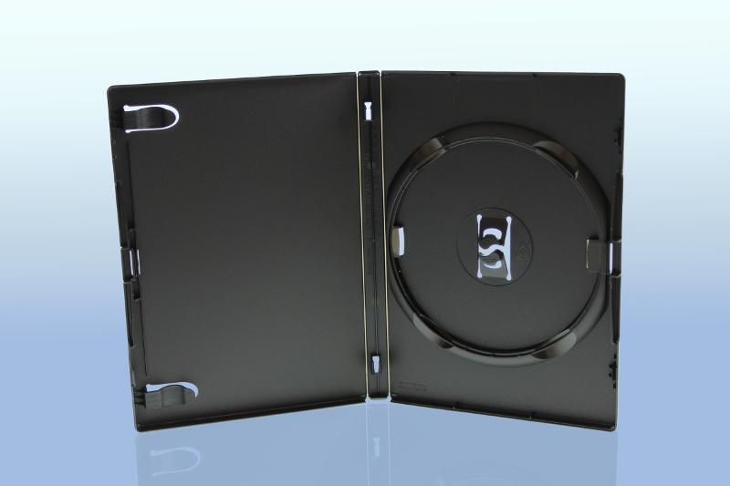 AMARAY DVD Box 1-fach - 14mm - mit Clip für Tray -... - DVD Hüllen