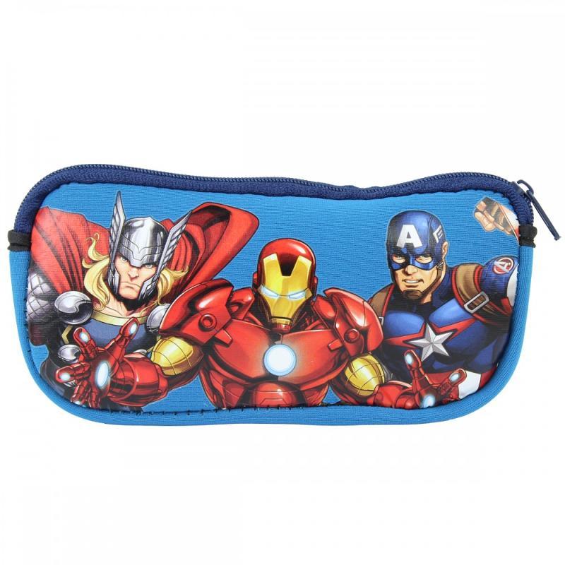6x Lunettes de soleil avec étui Avengers - Lunette de soleil
