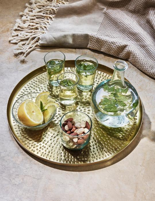 Verre à thé transparent - Verre soufflé
