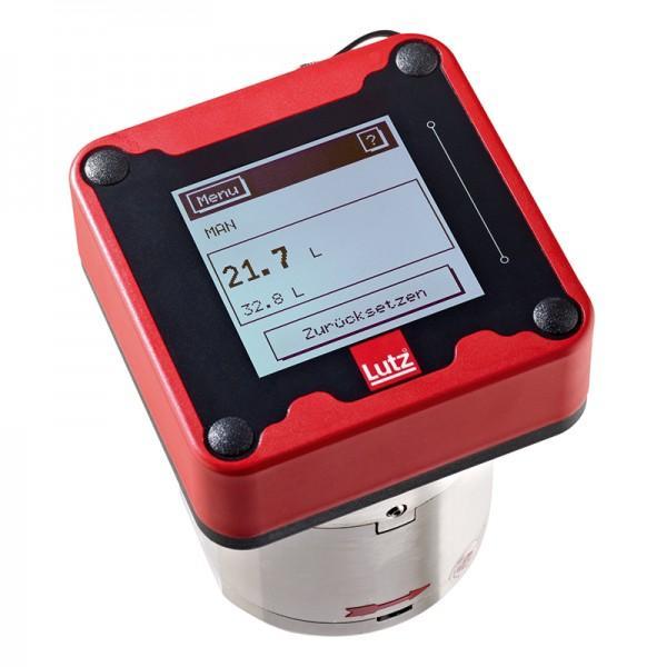 Flow meter HDO 120 Alu/LCP Ex - Oval gear flow meter