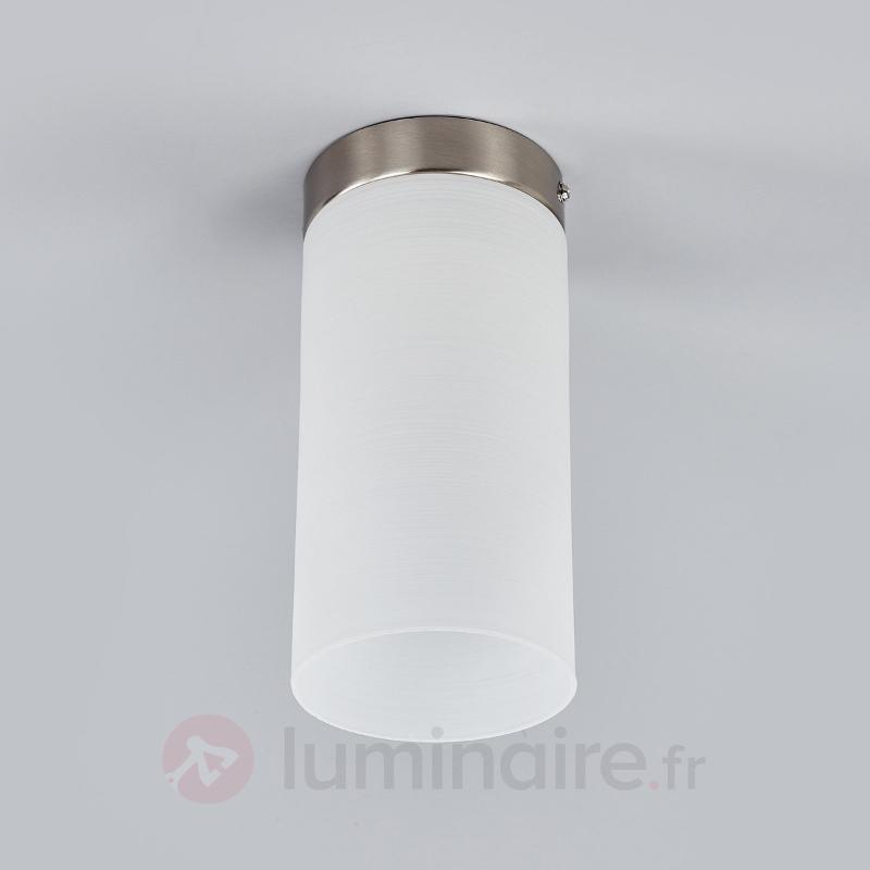 Moderne plafonnier ZYLINDER - Plafonniers en verre