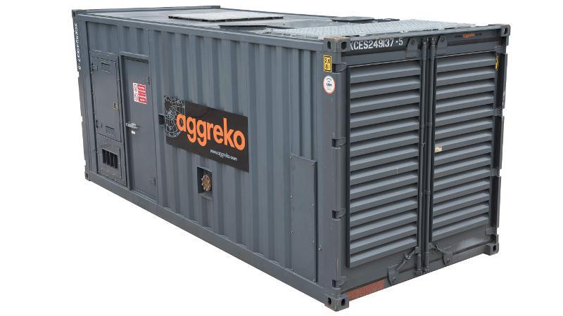 Generatori A Gas Da 375 Kva - Noleggio Gruppi Elettrogeni