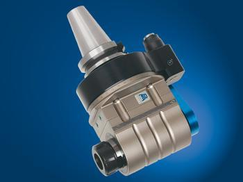 Input coolant from stop-block, and output through tool spindle. - TA26.PD