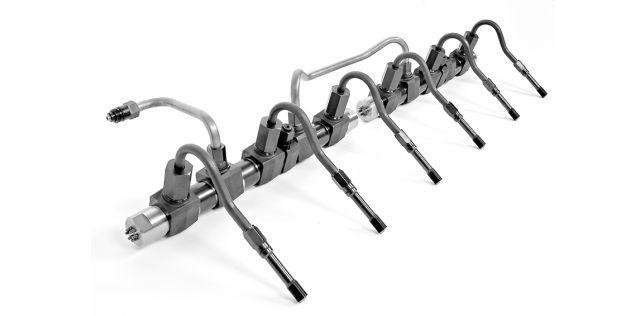 Common-Rail Druckleitungssysteme