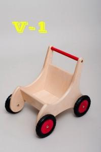 Wooden carriages V-2 - Wooden Toy