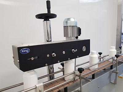 Press Capping Machine - Semi-automatic Press Capping Machine   King Packaging Machinery