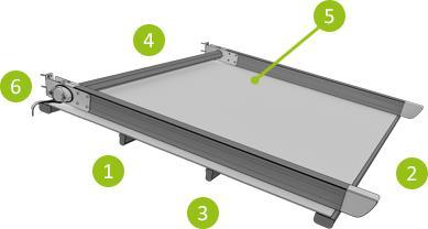 Pergola Standard - Pergola en aluminium à toile rétractable ou à lamelles orientables pour...