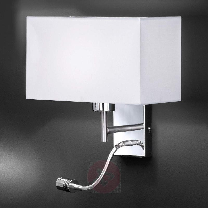 Functional wall light Kempten with LED arm - Wall Lights