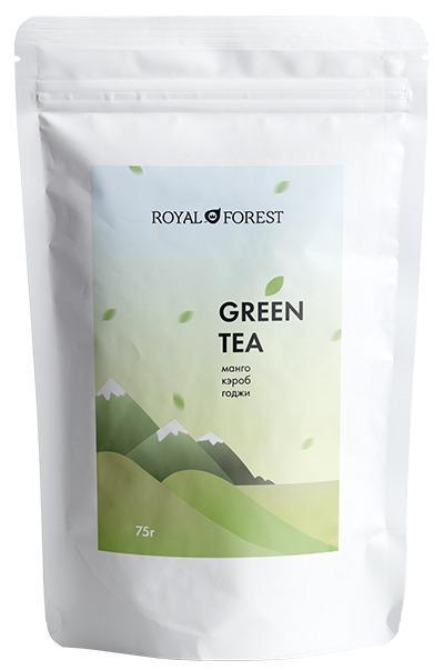 Green Tea - natural organic tea mix