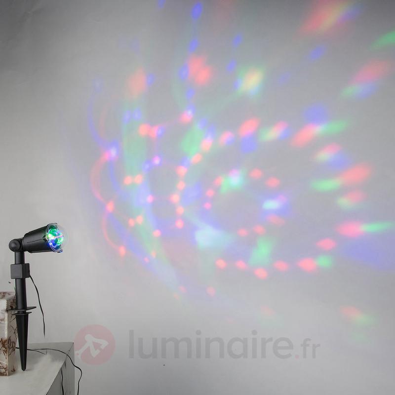 Spot à planter Giona avec éclairage festif LED - Lampes à planter