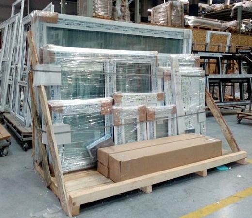 Fenêtres en ALU - Aluminium Système battant à RPT 55mm et 70mm