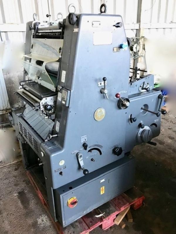 Heidelberg GTO 46 + NP - Used Machine