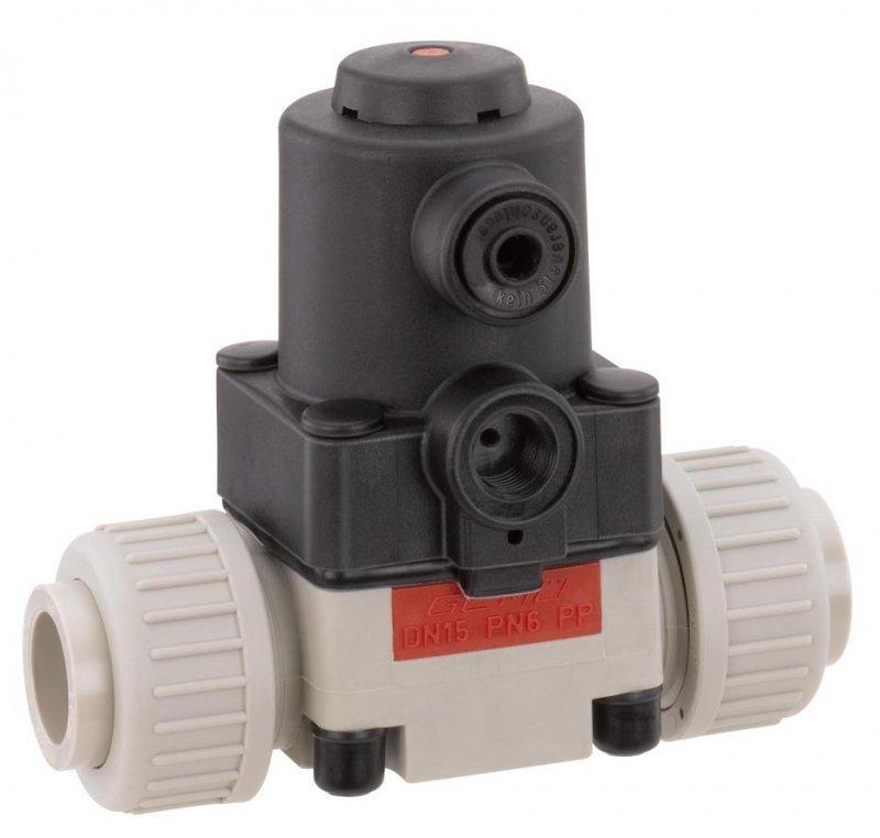 GEMÜ 610 - Pneumatically operated diaphragm valve