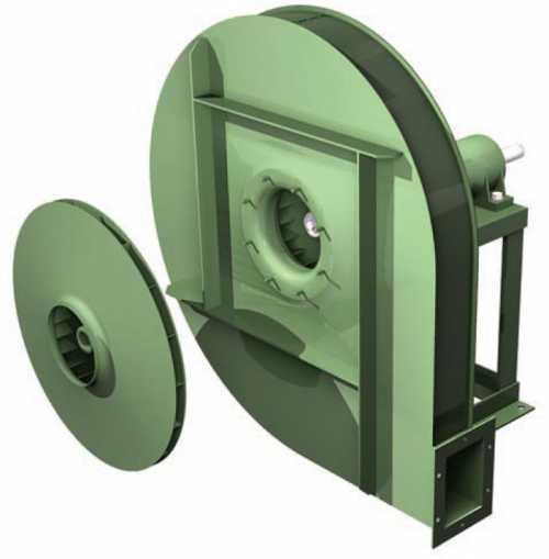 GFI • Ventilateur haute pression type GF - Transmission poulie courroie - null