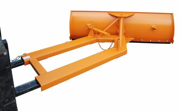 Snowdozers type SCH, Forklift truck attachments - Adjustable shield with fork sleeves, various types available