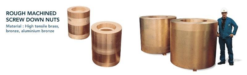 Screw down nut - Rolling mills