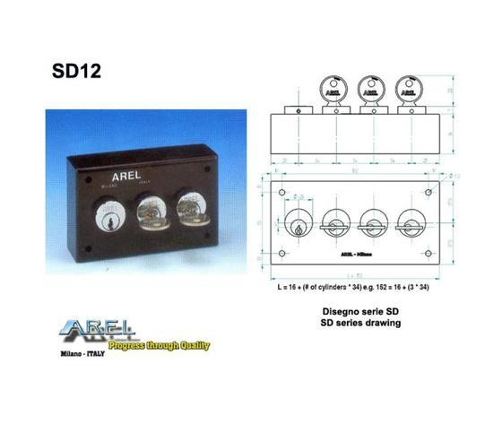 Distributori di Chiavi - Distributore chiave SD12