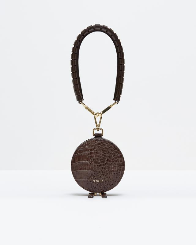 Round Purse Dark Chocolate - ARTICLES