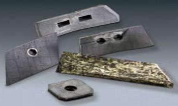 Paddles in casting - Spare parts for Batching plants