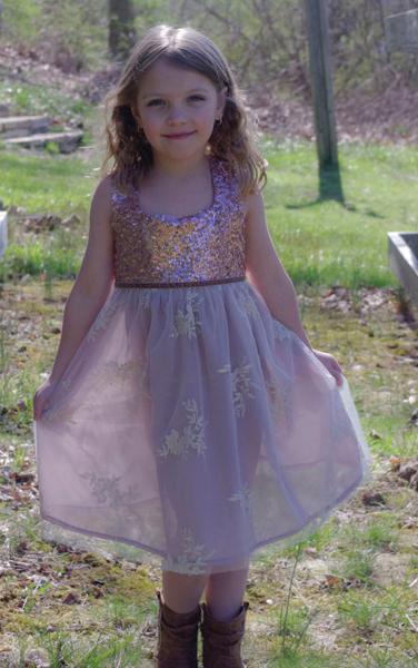 Girl Sequin Tulle Dresses