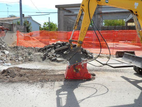 Fresatrice Stradale per Braccio Escavatore