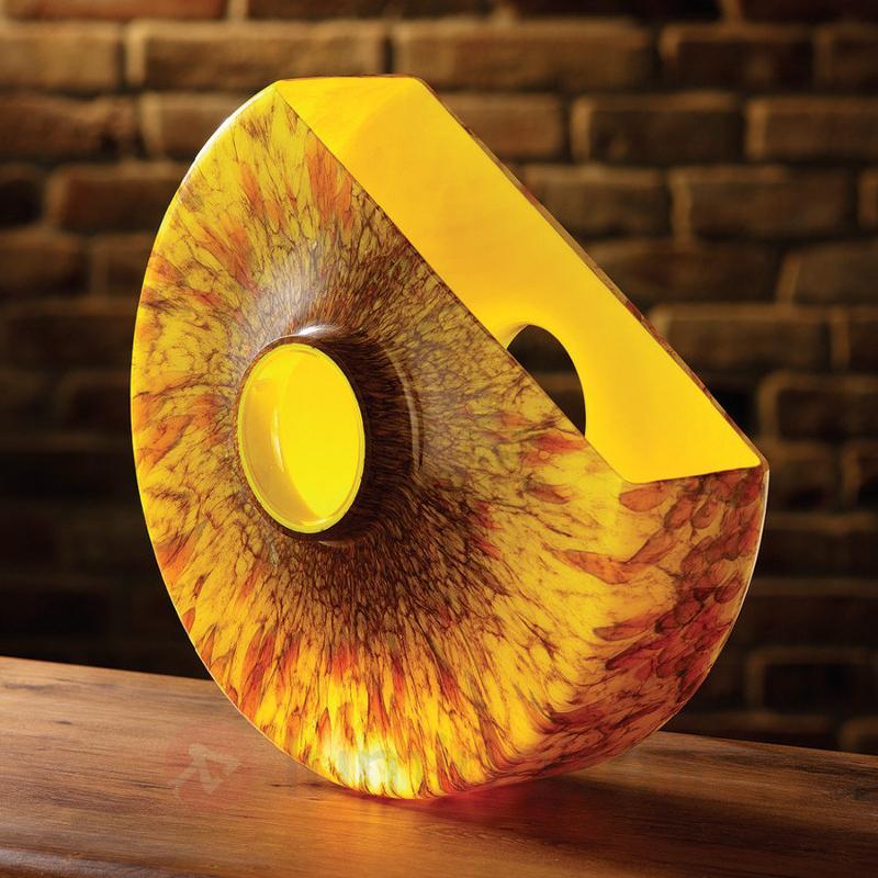 Magnifique lampe à poser R 400 jaune - Lampes à poser pour rebord de fenêtre