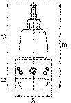 Precision pressure regulator, G 1/4, Control range 0.2... - Precision pressure regulators (no non-ferrous metals)