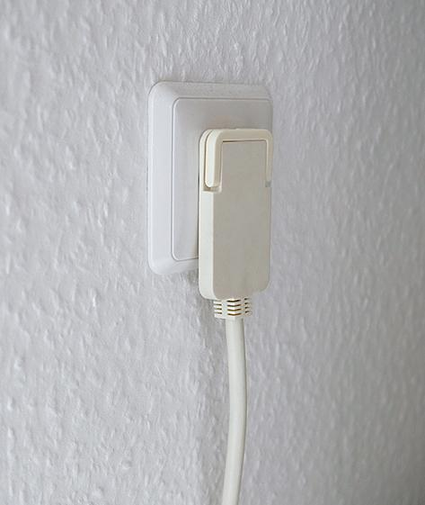 Comfort Line Plus Extension Socket With Flat Plug - null