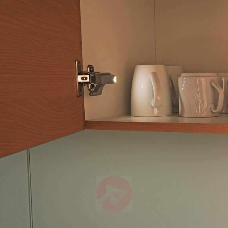 LED cupboard light with switch, set of four - indoor-lighting