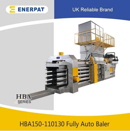 Energy Saving Automatic Scrap Cardboard Recycling Machine - Horizontal Baler Horizontal Baling Applications