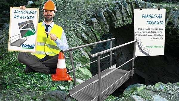 Soluciones de altura para accesos y tránsitos