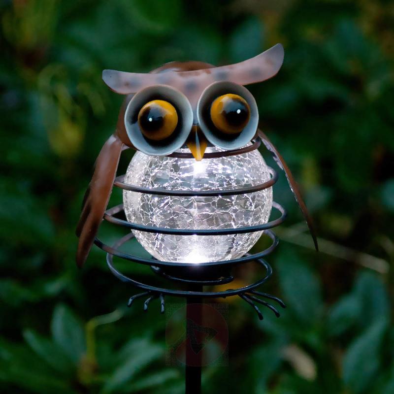 Solar garden sticker Sicily Owl - outdoor-led-lights