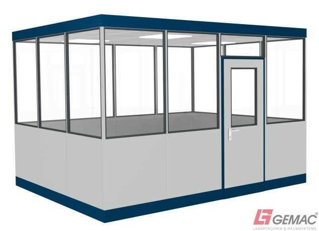 Hallenbüro Indoor Line 4-seitig - GTIN/EAN: 40 44944 69509 6