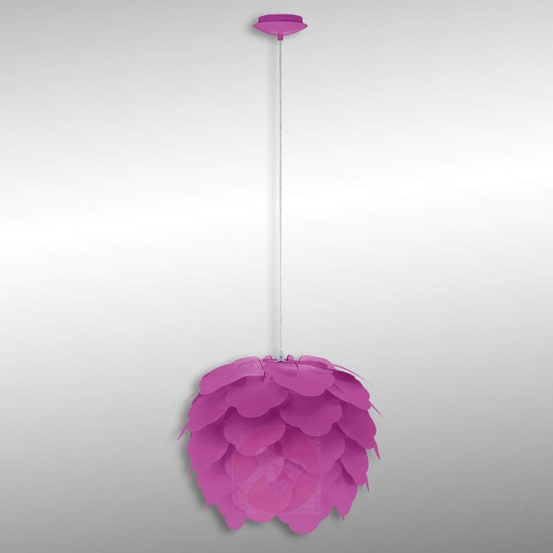 Filetta Pendant Lamp in Purple - Pendant Lighting