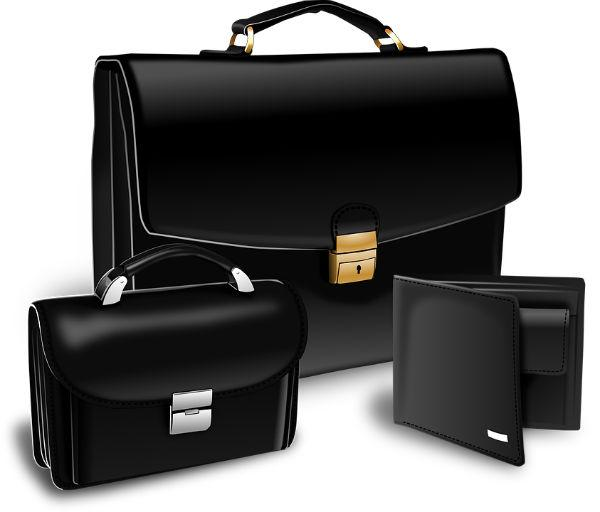 Damen und Herrn Leder Taschen und Geldbörsen