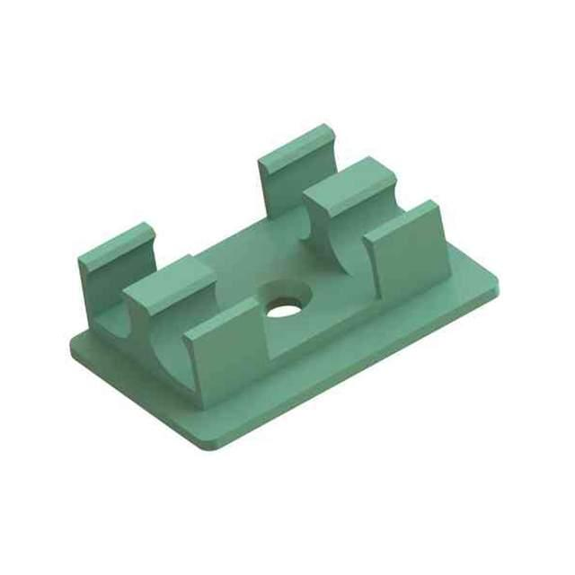 ISOLATOR CLIP,GREEN,5.5MM - Essentra Components EFA04-63-001