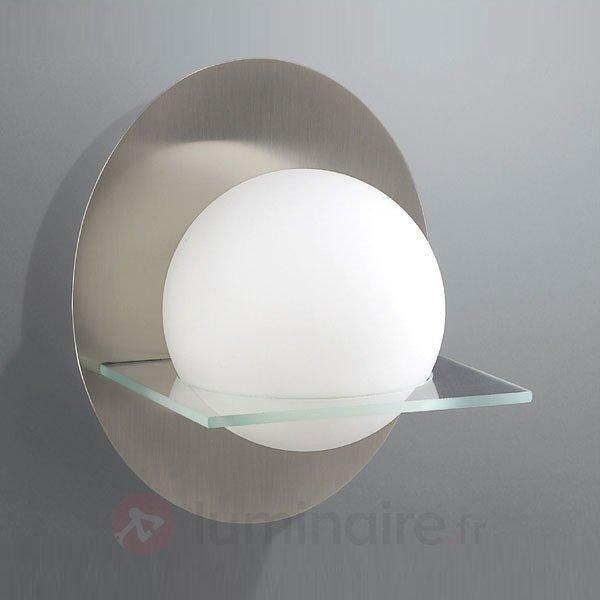 Applique MONICA impressionnante - Appliques chromées/nickel/inox