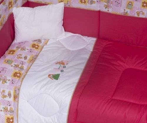Embroidery bed set - JENNY