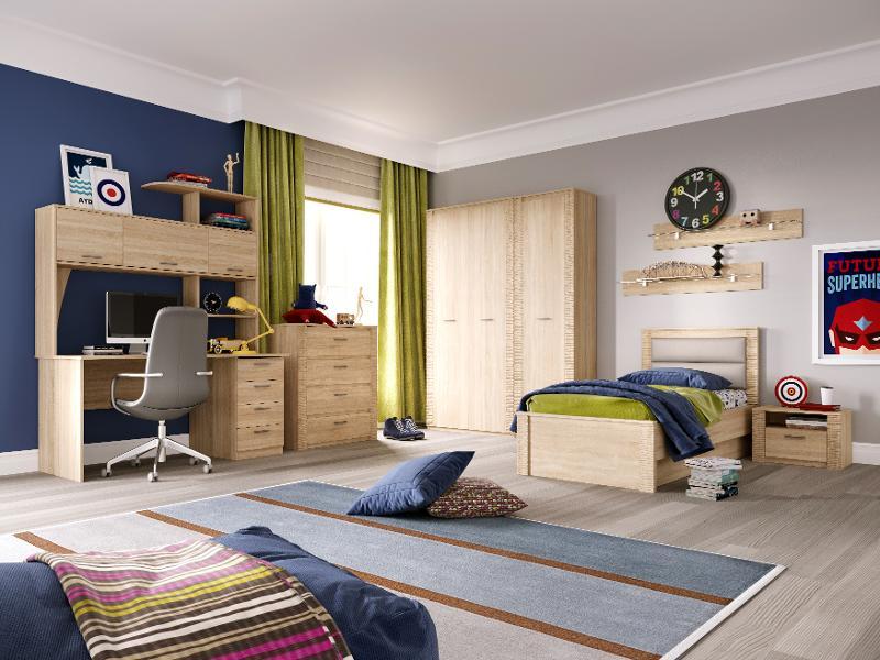 """Elana"" Youth Oak Sonoma - Children's room furniture"