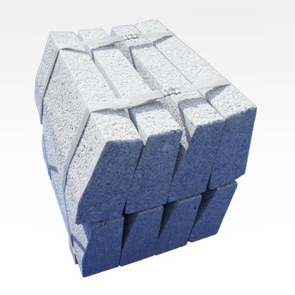Bordures en Granit Arrondi - Bordures trottoir courbes. Biseauté droit ou en rayon.