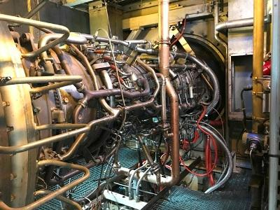 31 MW GE LM2500 Gas Turbine -