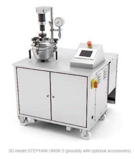 Cutter mélangeur broyeur chocolat laboratoire sous vide - STEPHAN UMSK5