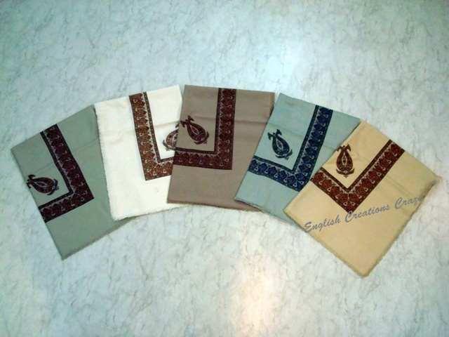 Poly-Wool Jacquard Shawls - Poly-Wool Jacquard Shawls