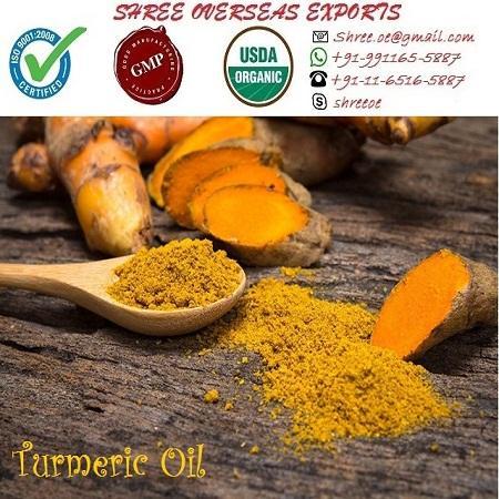 Organic Turmeric Oil - USDA Organic