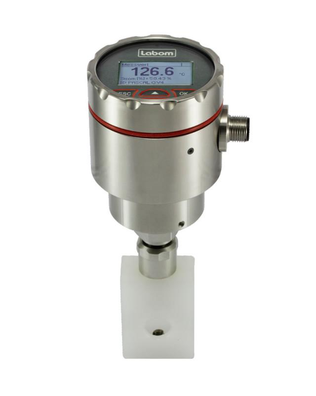 Temperature transmitter GV4 Clamp-on - Temperature transmitter for hygienic surface measurement clamp-on technology