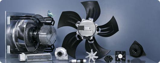 Ventilateurs / Ventilateurs compacts Ventilateurs à flux diagonal - K1G200-AD65-04